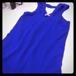 NWOT Lots of Love by Speechless Royal Blue Dress